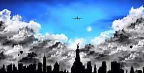 飛行機の壁紙#1サムネイル