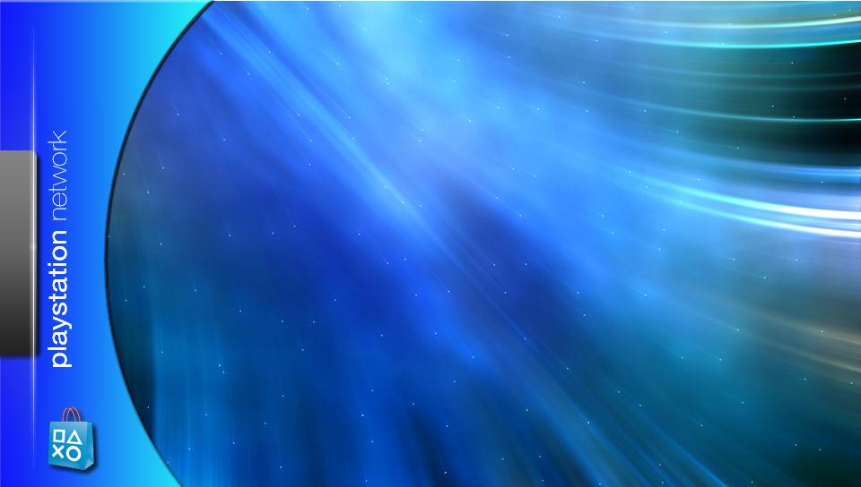 ブルーのスタイリッシュな壁紙(PSP Vita用/960×544)