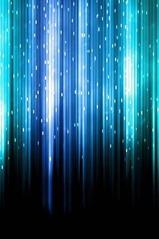 極彩カーテンの涙のスマホ用壁紙(iPhone用/320×480)