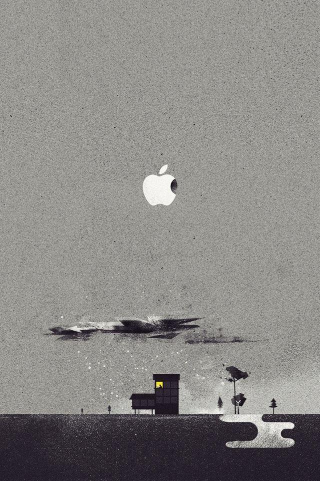 アーバン・アップルのスマホ用壁紙(iPhone4S用)