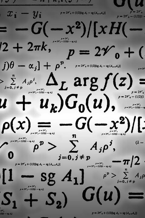 計算式のスマホ用壁紙(iPhone4S用)