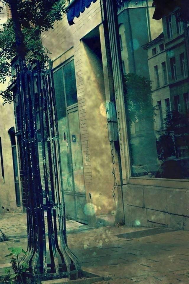 タウンストリートのスマホ用壁紙(iPhone4S用)
