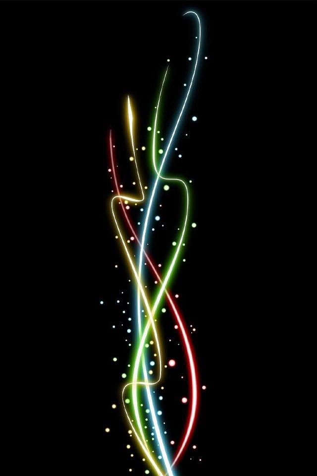 希望の光のスマホ用壁紙(iPhone4S用)