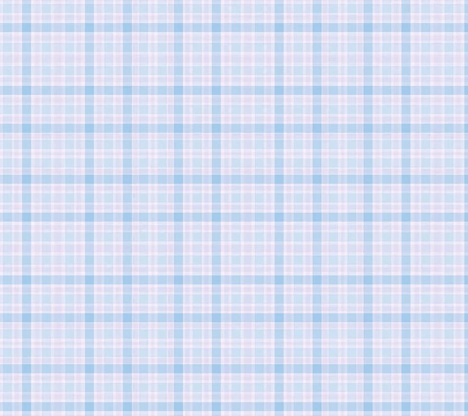 青のギンガムチェックのスマホ用壁紙(Android用/960×854) 関連のスマホ壁紙  青の