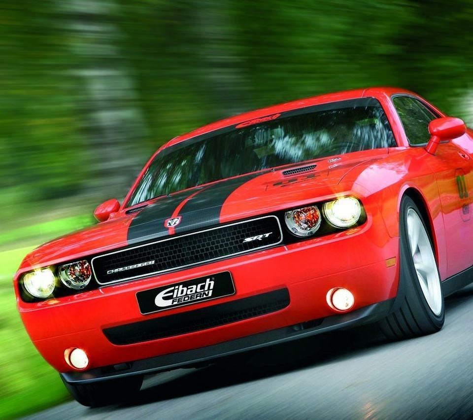 赤い車のスマホ用壁紙(Android用/960×854)