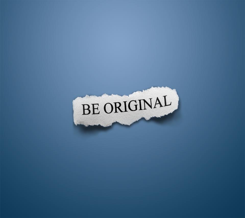BE ORIGINALのスマホ用壁紙(Android用/960×854)