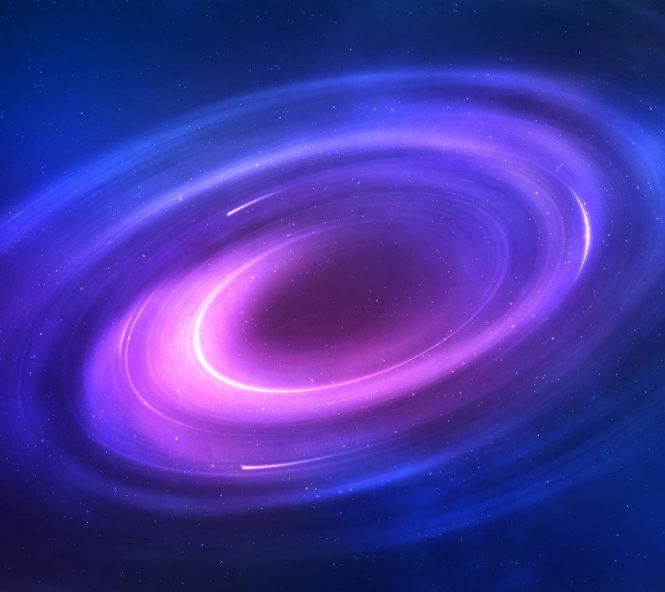 ブラックホールのスマホ用壁紙(Android用/960×854)