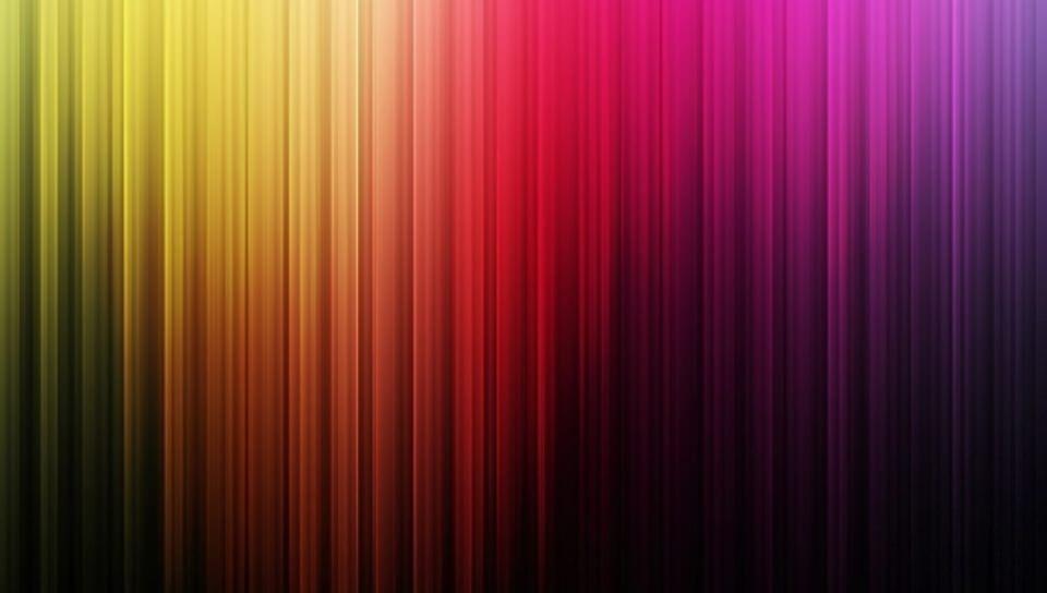 極彩カーテンの壁紙(PSP Vita用/960×544)