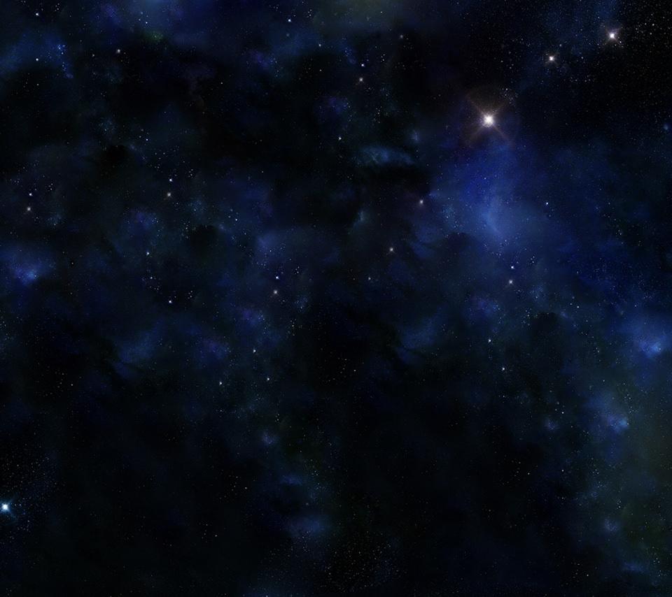 満天の星空のスマホ用壁紙(Android用/960×854)