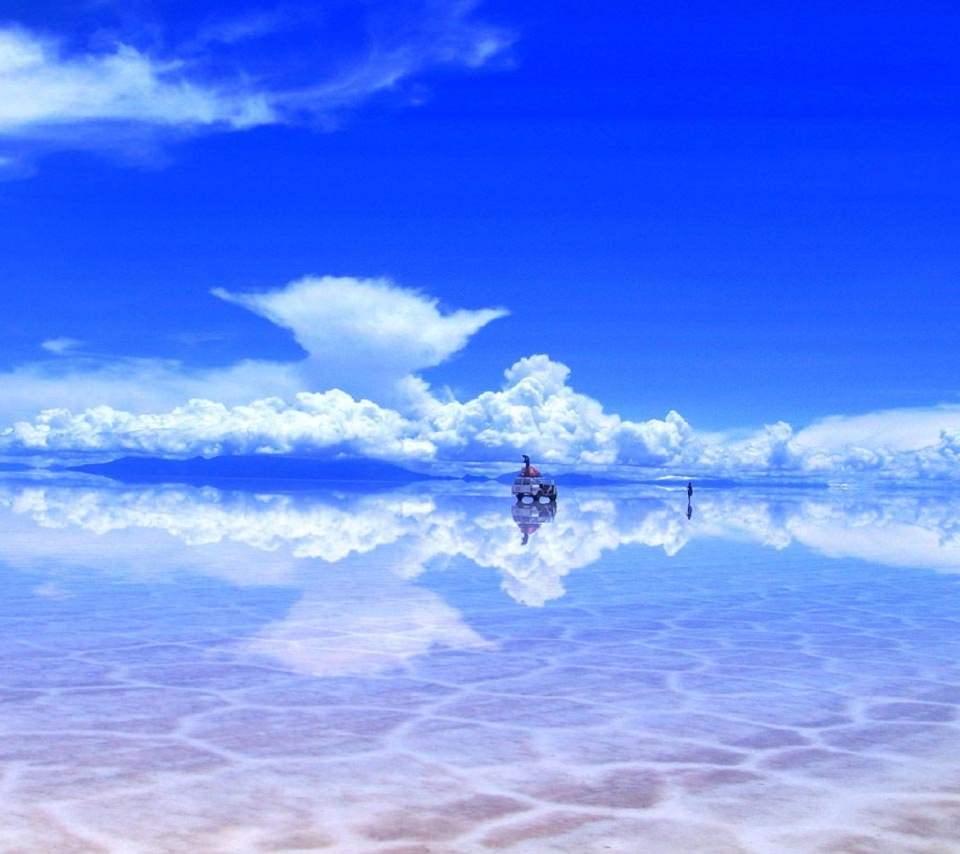 空のスマホ壁紙