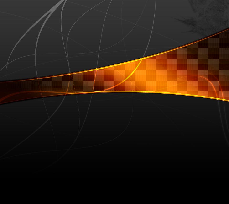 黒と橙のスマホ用壁紙(Android用/960×854) 関連のスマホ壁紙  黒と橙のスマホ用壁