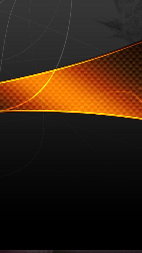オレンジの閃光のスマホ用壁紙(Android用/480×854)