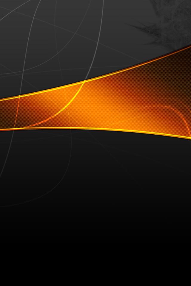 漆黒のスマホ用壁紙(Android用/640×960)