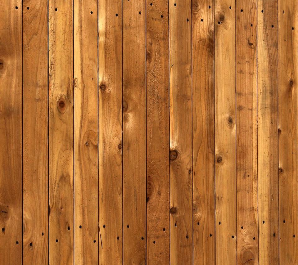 木目調のスマホ用壁紙(Android用/960×854)