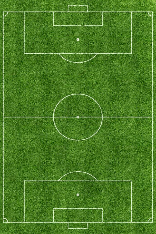 サッカー場のスマホ用壁紙(iPhone4S用)