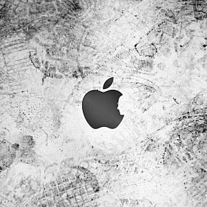 appleとジョブズの壁紙(iPad3用/2048×2048)