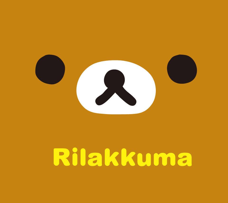リラックマのスマホ用壁紙(Android用/960×854)