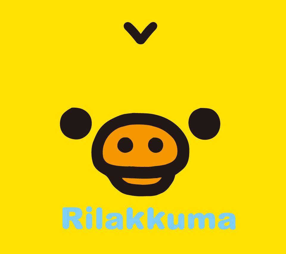 リラックマのスマホ用壁紙3(Android用/960×854)