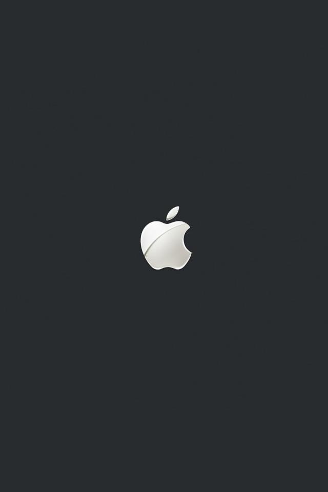 スタイリッシュなマックのスマホ用壁紙(iPhone4S用)