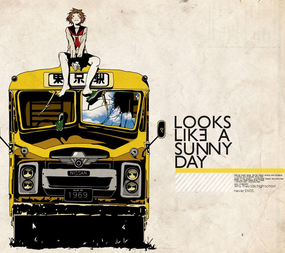 Sunny Dayのスマホ用壁紙(Android用/960×854)