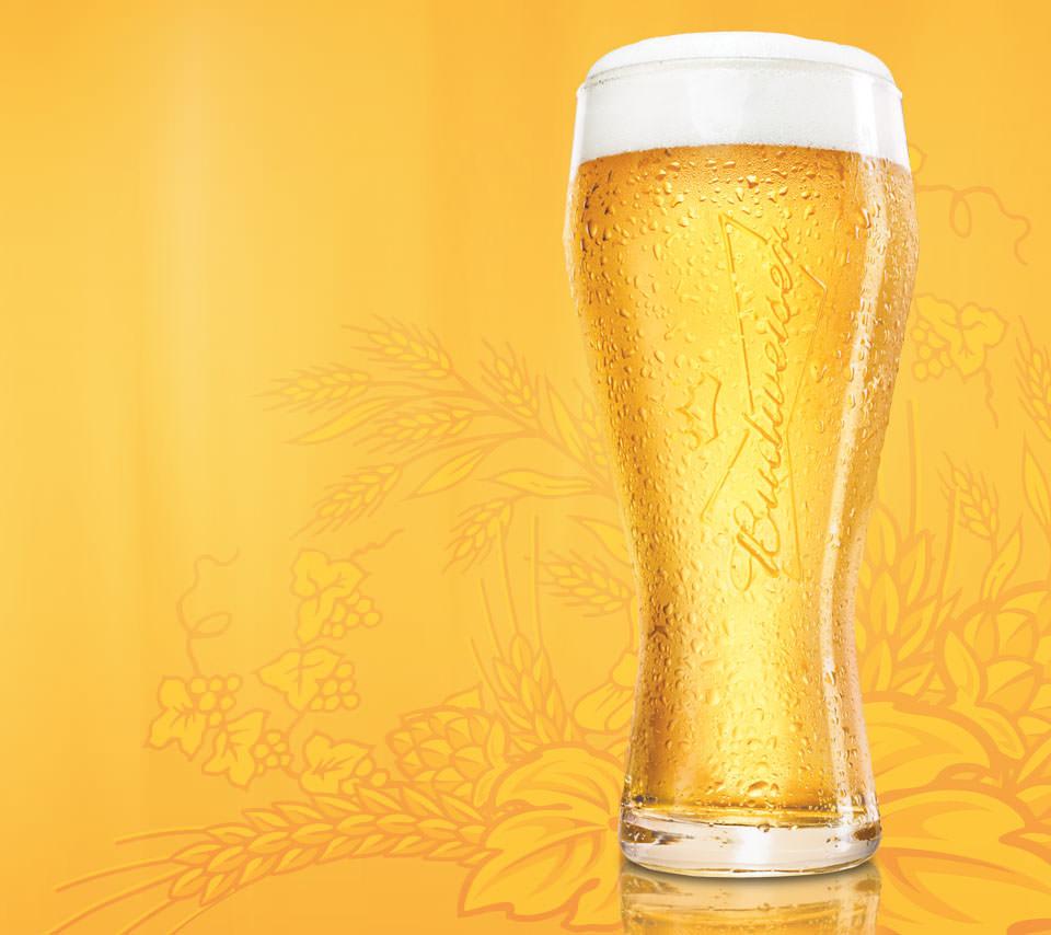 美味しそうなビールのスマホ用壁紙2(Android用/960×854)