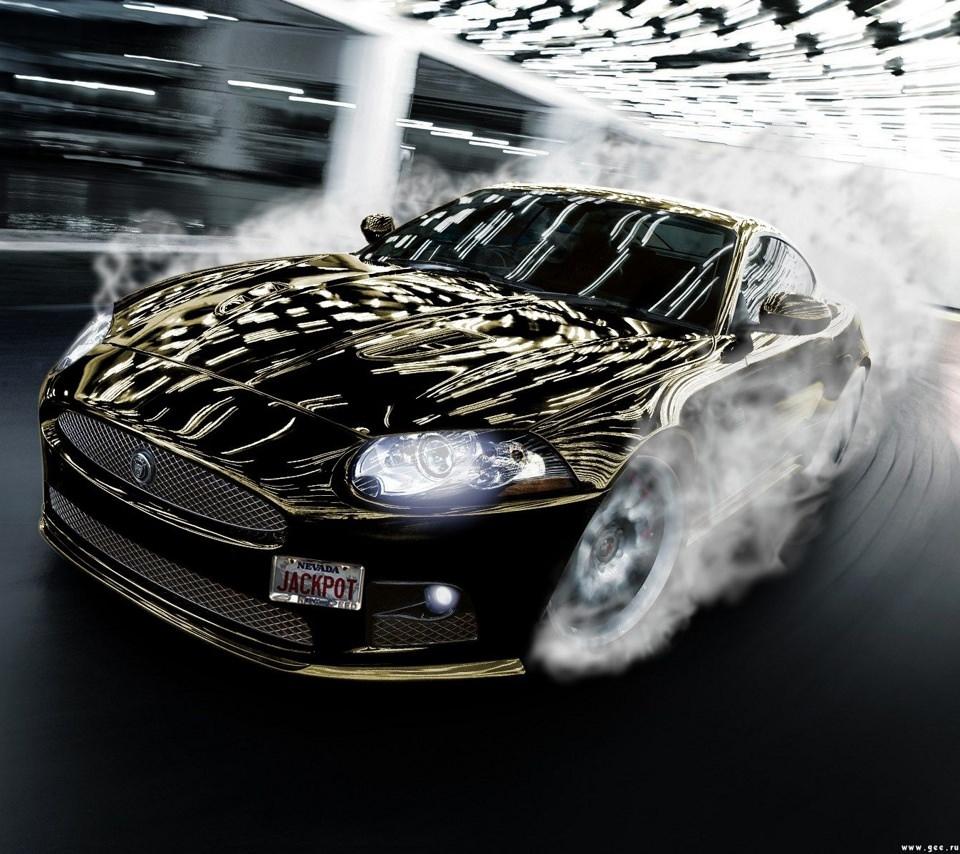 かっこいいスポーツカーのスマホ用壁紙(Android用/960×854)