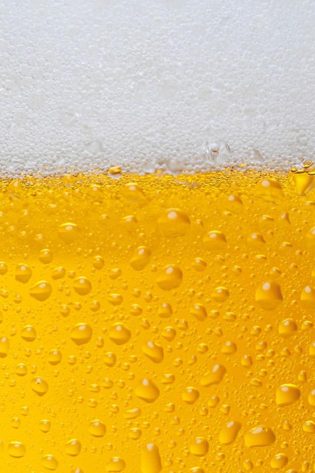 美味しそうなビールのスマホ壁紙(iPhone4S用)
