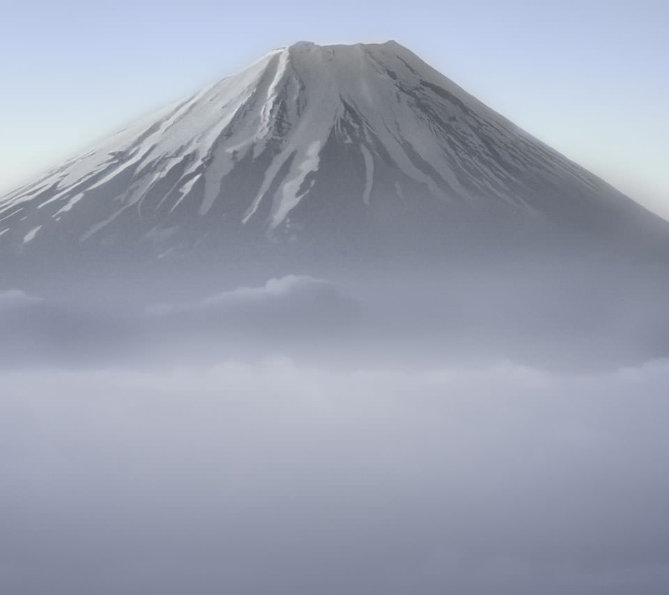 富士山のスマホ用壁紙(Android用/960×854)