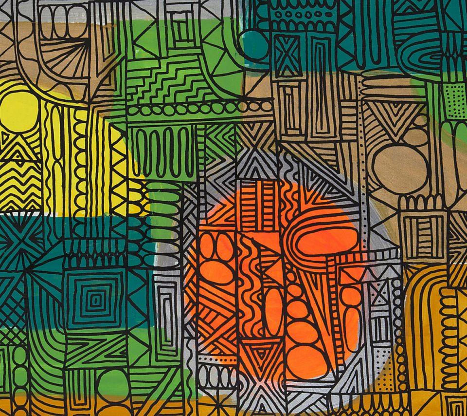 モダン・アートの壁紙(Android用/960×854)