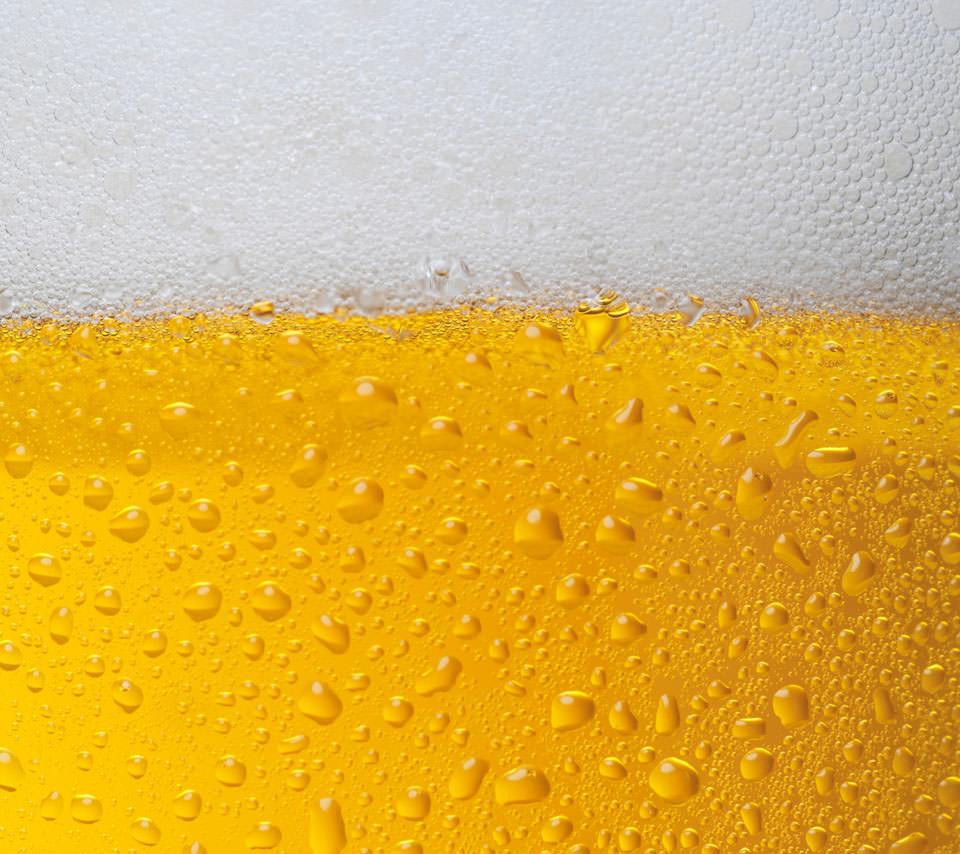 美味しそうなビールのスマホ用壁紙(Android用/960×854)