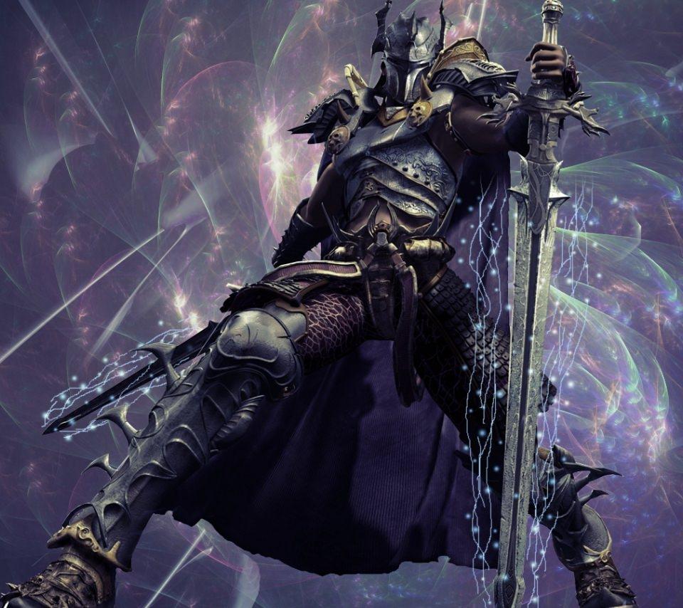 暗黒騎士のスマホ用壁紙(Android用/960×854) 暗黒騎士のスマホ用壁紙(Androi