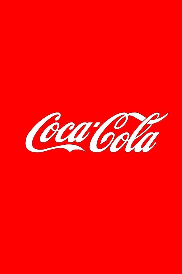 コカコーラのスマホ壁紙2(iPhone4S用)