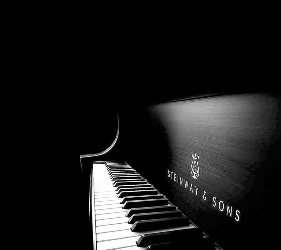 グランドピアノのスマホ用壁紙(Android用/960×854)