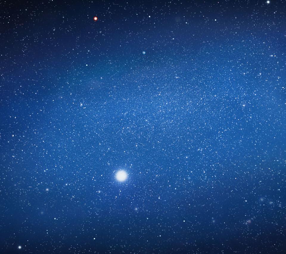 銀河のスマホ用壁紙(Android用/960×854)