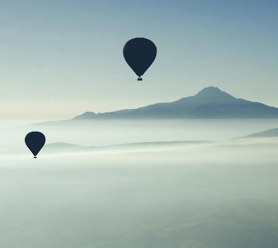 トルコの気球のスマホ用壁紙(Android用/960×854)
