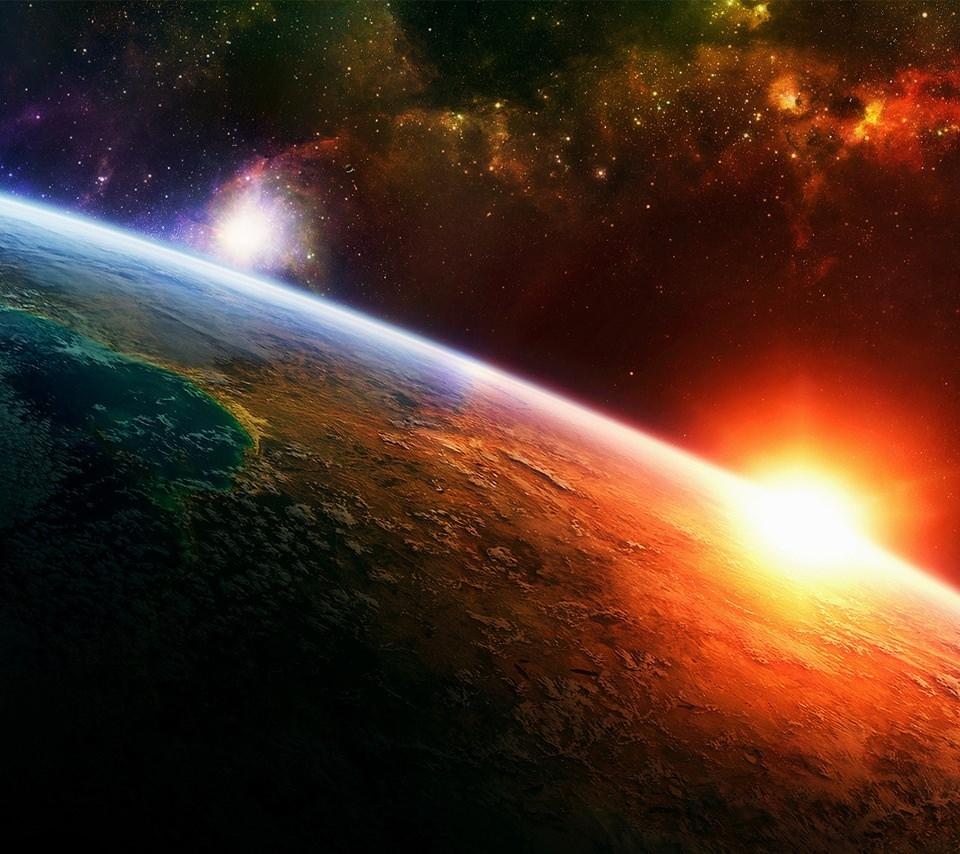 世界の終わりのスマホ用壁紙(Android用/960×854)