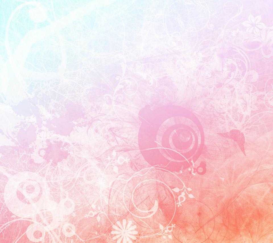 ガーリーなスマホ用壁紙(Android用/960×854)