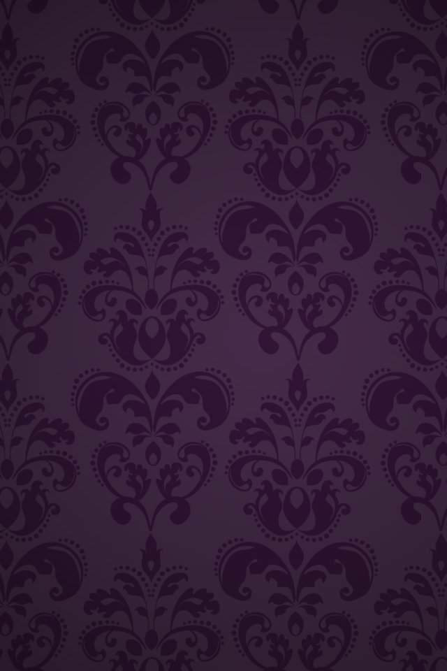 落ち着いた紫のスマホ用壁紙(iPhone用/640×960)