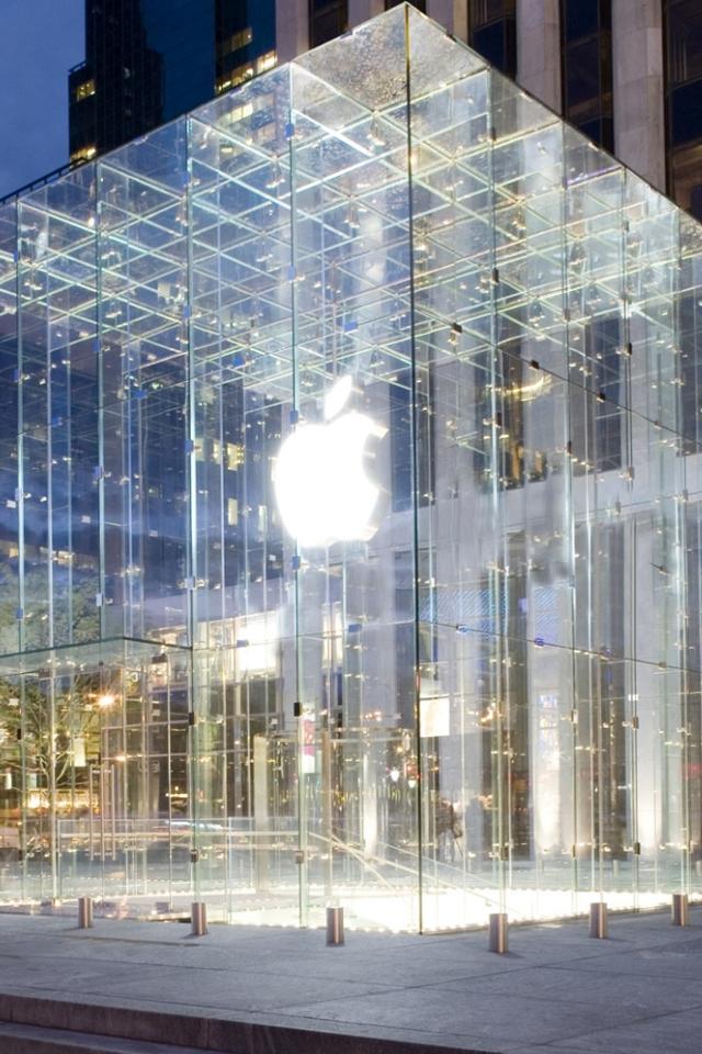 Appleストアー スマホ用壁紙(iPhone用/640×960)