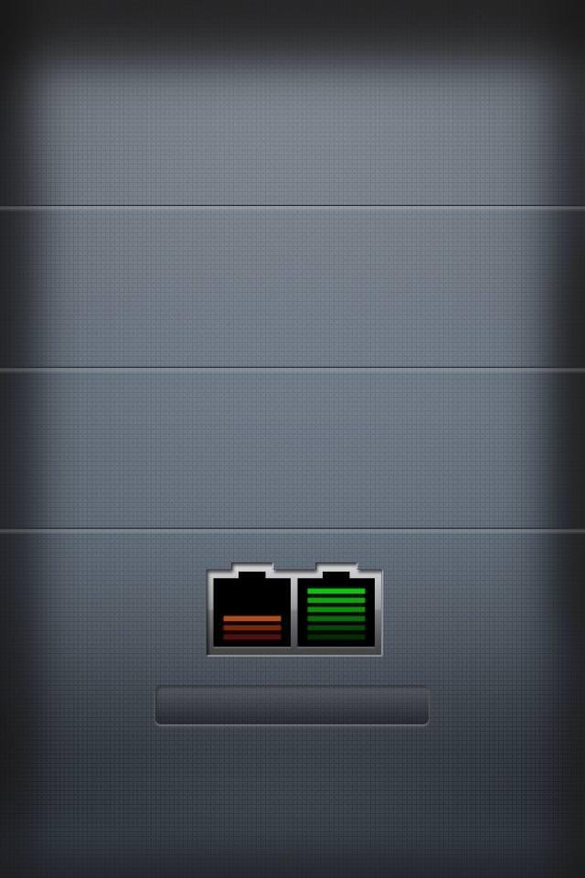 バッテリー スマホ用壁紙(iPhone用/640×960)