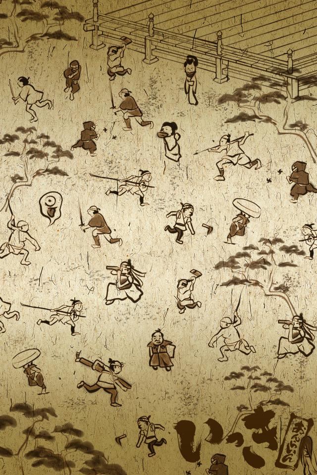 一揆2 スマホ用壁紙(iPhone用/640×960)