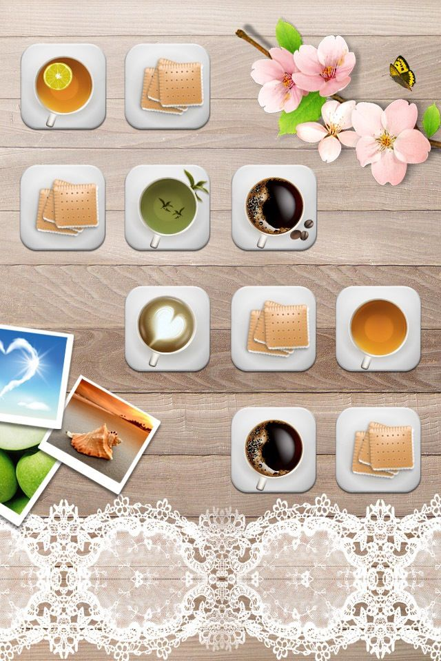 和風のかわいいスマホ用壁紙(iPhone用/640×960)
