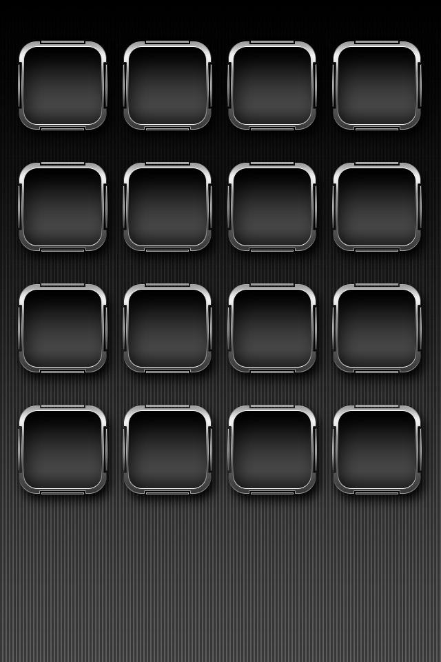 黒のかっこいいスマホ用壁紙(iPhone用/640×960)