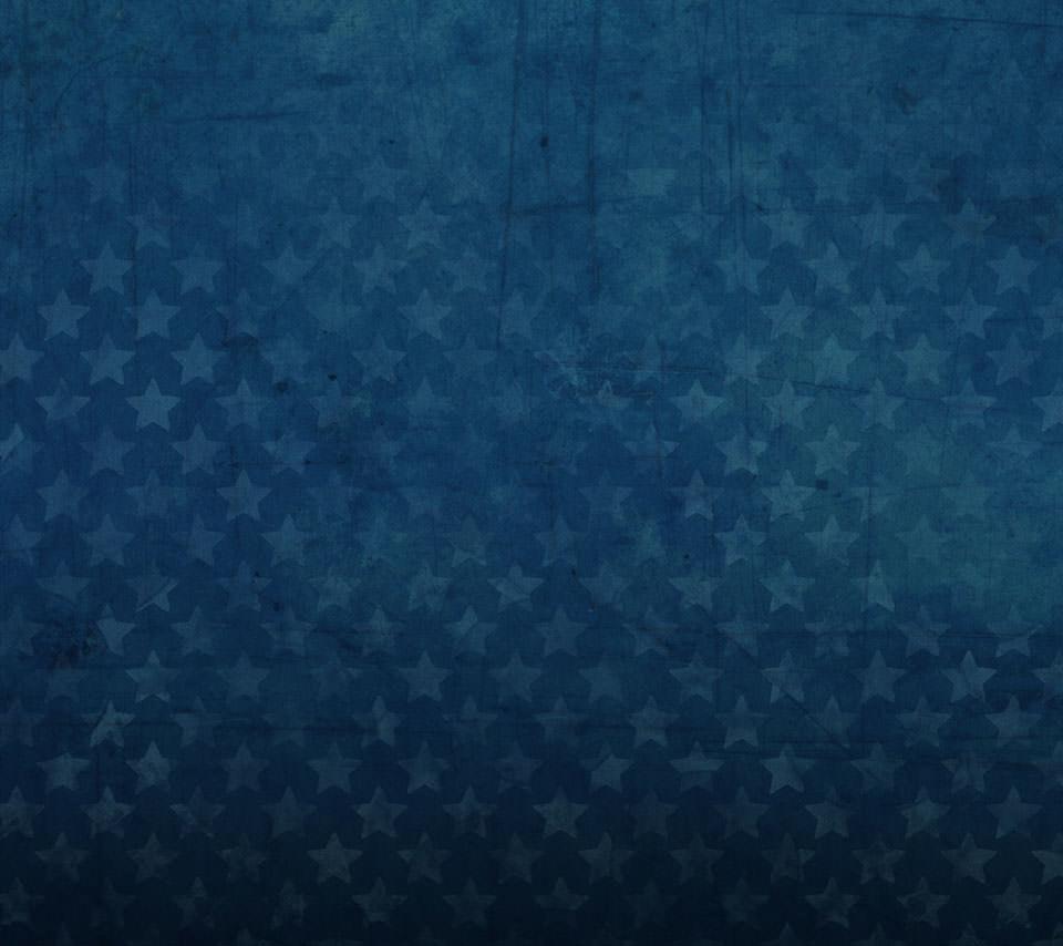 ビンテージ風の星型スマホ用壁紙(Android用/960×854)
