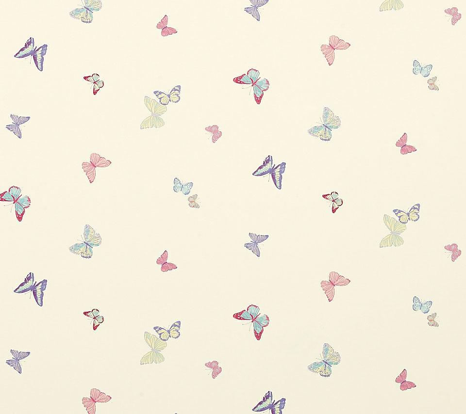 オシャレな蝶のスマホ用壁紙(Android用/960×854)