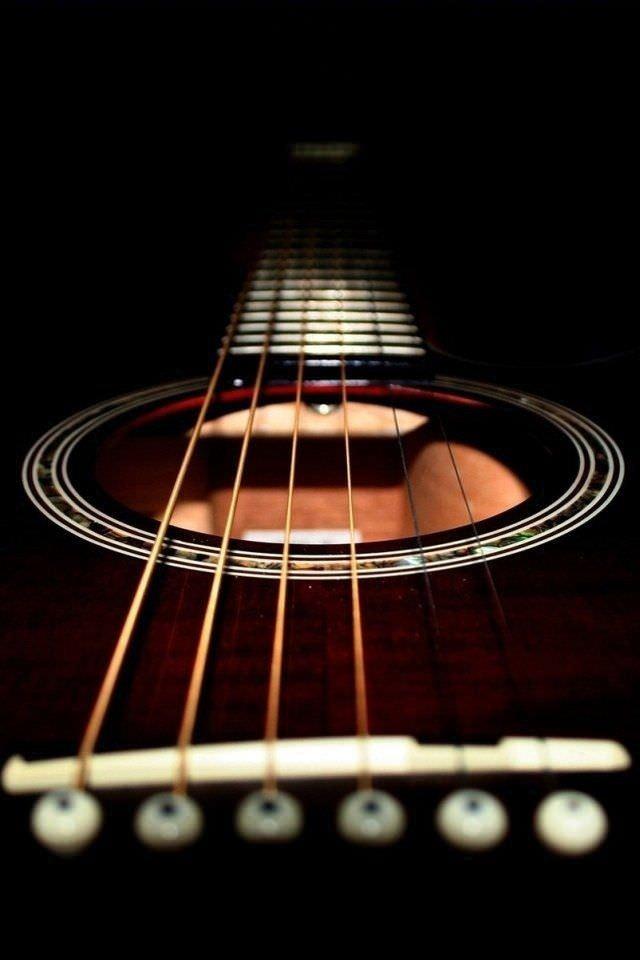 ギター スマホ用壁紙(iPhone用/640×960)