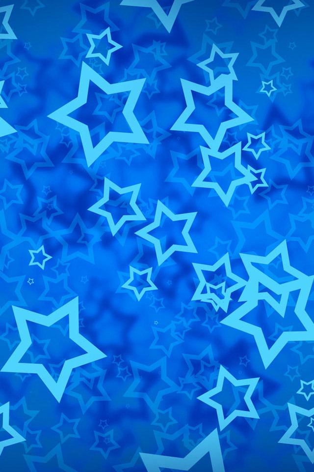 青い星 スマホ用壁紙(iPhone用/640×960)