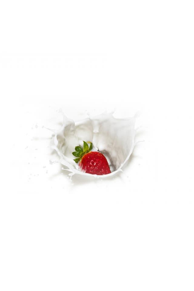 可愛いイチゴ スマホ用壁紙(iPhone用/640×960)