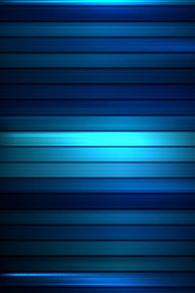 ブルーグラデーション スマホ用壁紙(iPhone用/640×960)