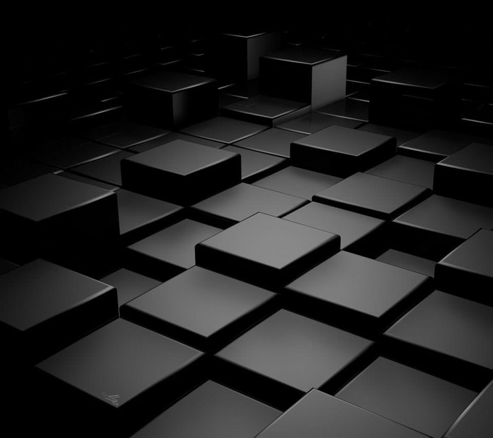 黒のかっこいい スマホ用壁紙(Android/960×854)  黒のかっこいい スマホ用壁紙(